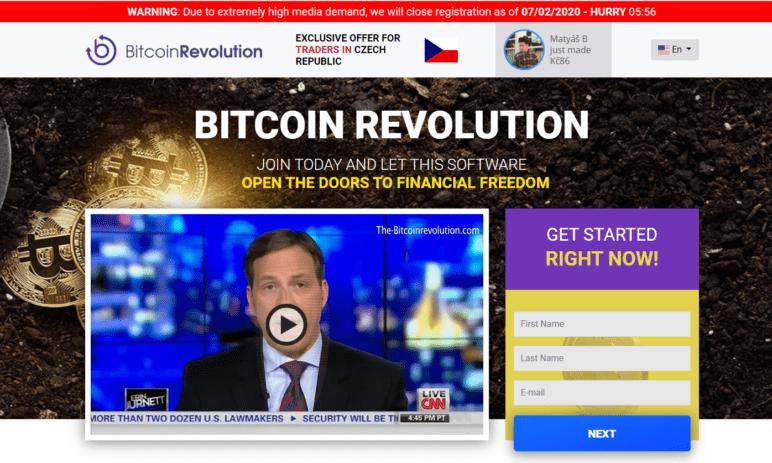 Podvodné weby: Bitcoin Revolution a Bitcoin Pro lákají uživatele na milionové zisky