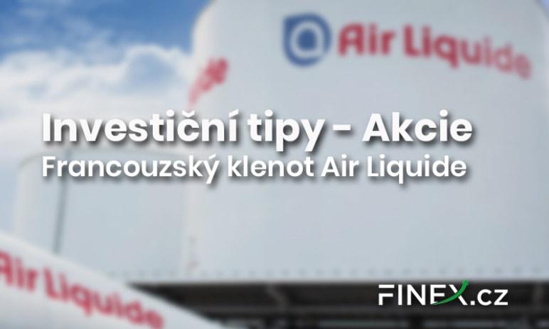 Investiční tipy: Francouzský klenot Air Liquide
