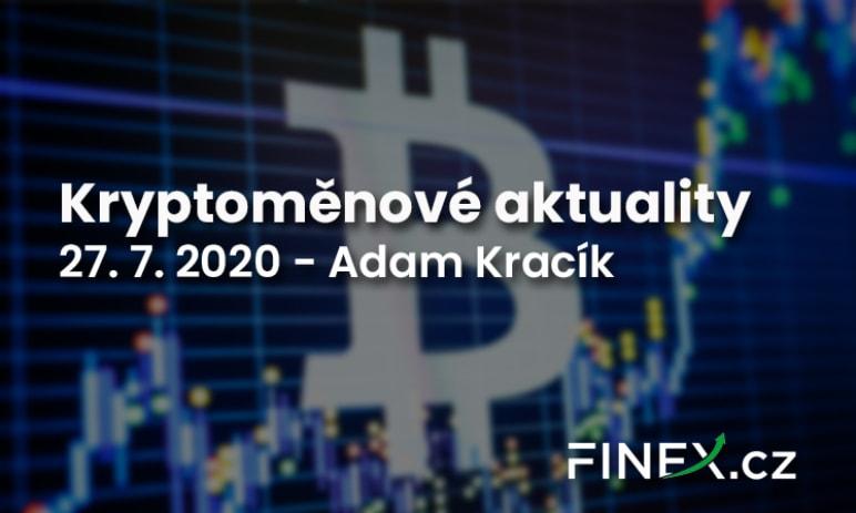 Kryptoměnové aktuality - Bitcoin prorazil $10 000, Ethereum jde dopředu a banky v USA už v tom létají taky!